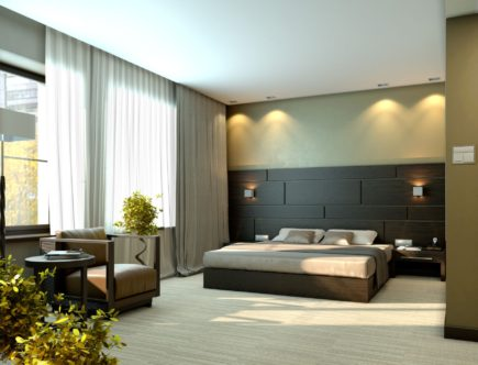 Дизайн спальни в современном стиле