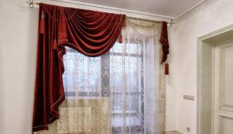 асимметричные шторы