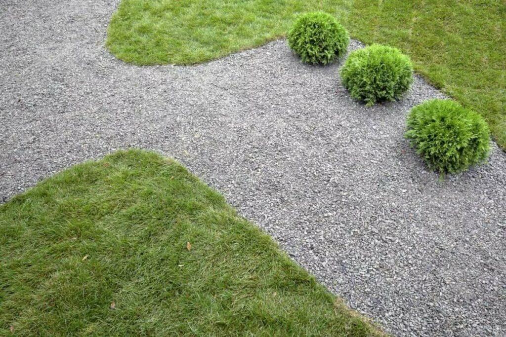 садовые дорожки из щебенки