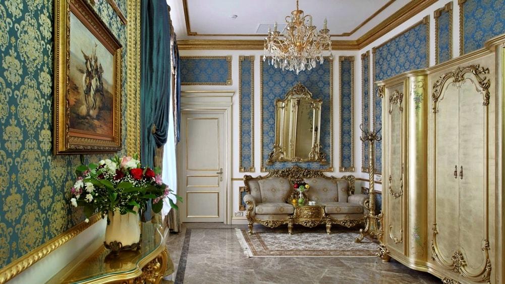 Версаль стиль в интерьере