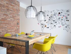 декор стен на кухне своими руками
