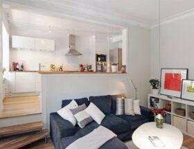 Дизайн однокомнатной квартиры как обустроить