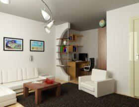Как можно расставить мебель в комнате