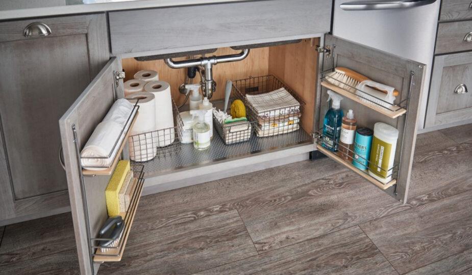 Как организовать хранения на кухне