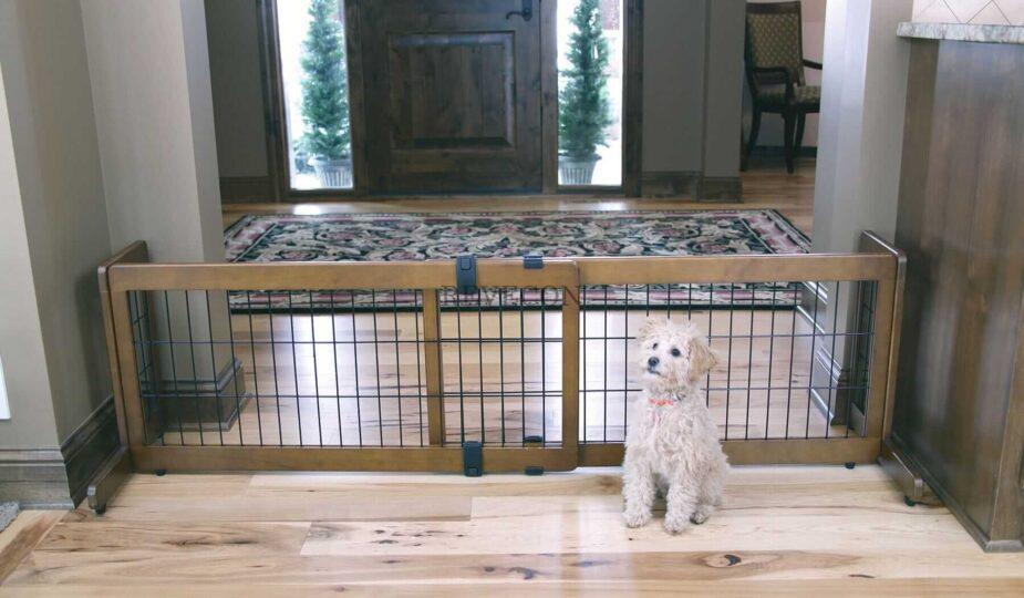 Как сделать межкомнатная перегородка для собаки