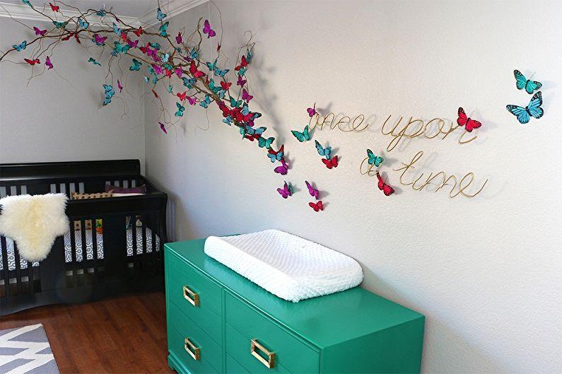 как украсить декором комнату своими руками