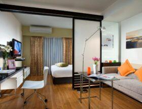 Как зонировать однокомнатную квартиру правильно