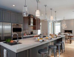 Освещение на кухне советы