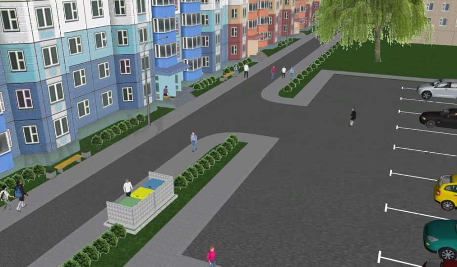 Жилая зона и дворовая территория определение